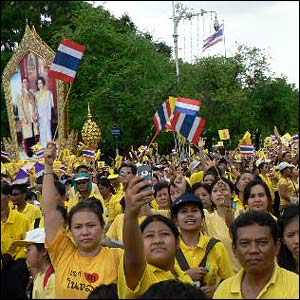 Thailand crowd