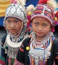 Hilltribe girls