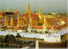 Thai history, Grand Palace in Bangkok Thailand