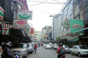 Patpong at day time