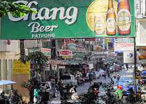 Entrance to Patpong from Silom