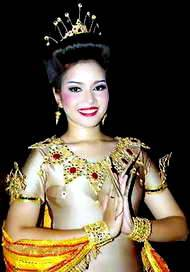Thai traditional dancing